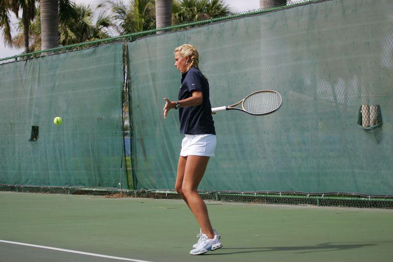 FAU Tennis - Womens Feburary 2005 -  1039