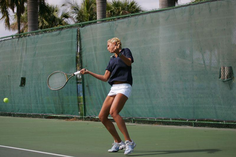 FAU Tennis - Womens Feburary 2005 -  1036