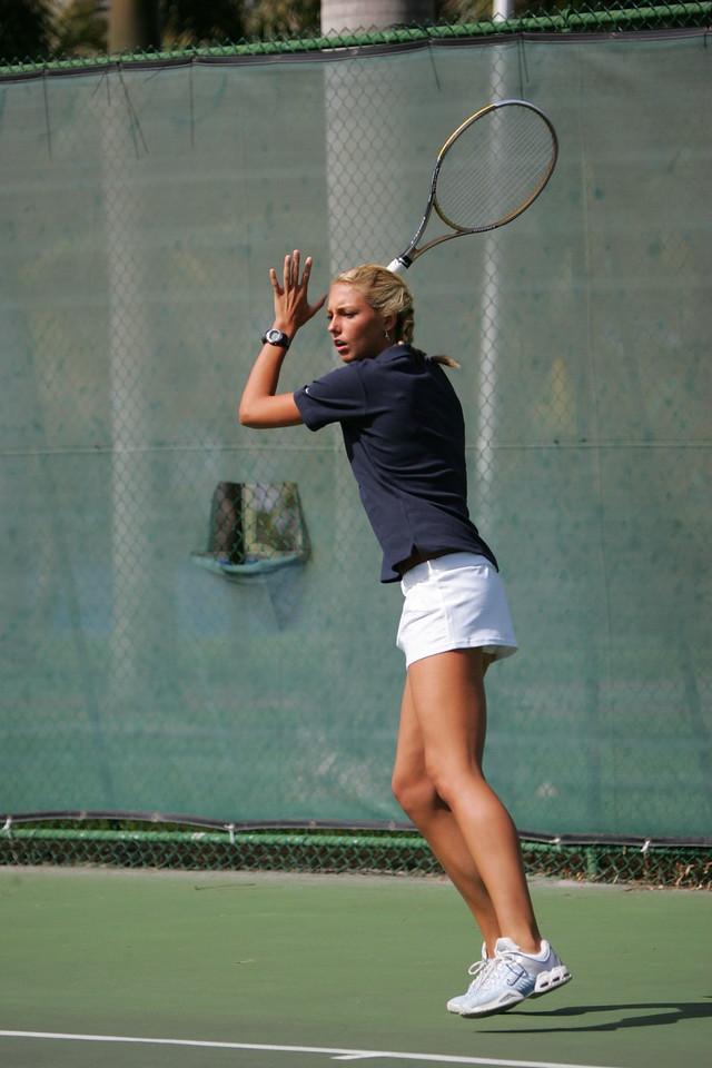 FAU Tennis - Womens Feburary 2005 -  1017