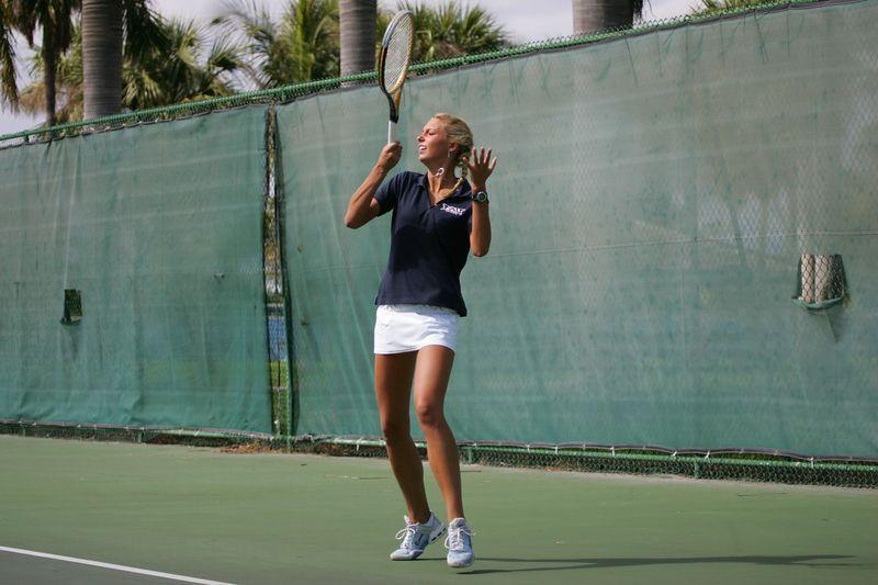 FAU Tennis - Womens Feburary 2005 -  1034