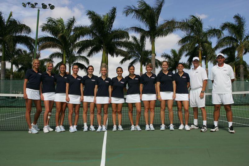 FAU Tennis - Womens Feburary 2005 -  1012