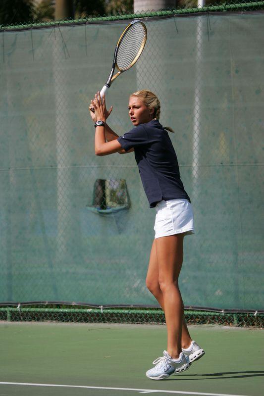 FAU Tennis - Womens Feburary 2005 -  1016
