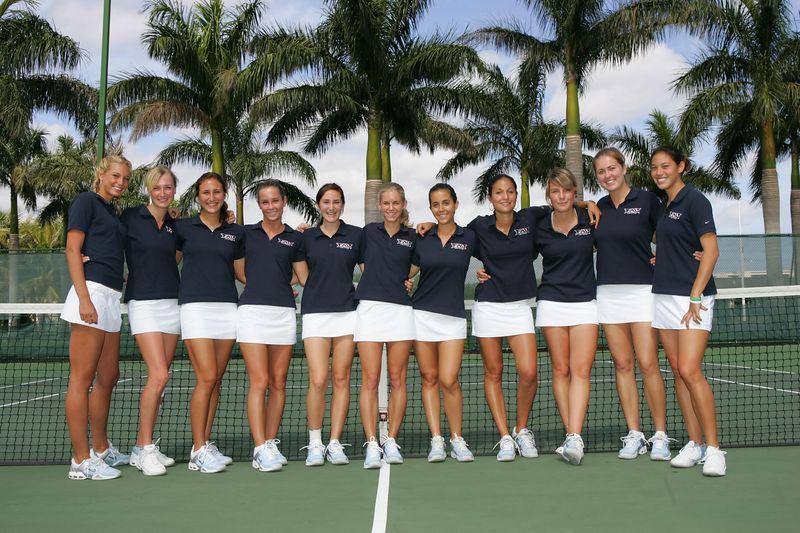 FAU Tennis - Womens Feburary 2005 -  1009