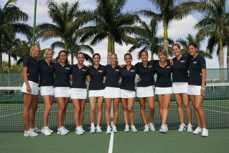 FAU Tennis - Womens Feburary 2005 -  1010