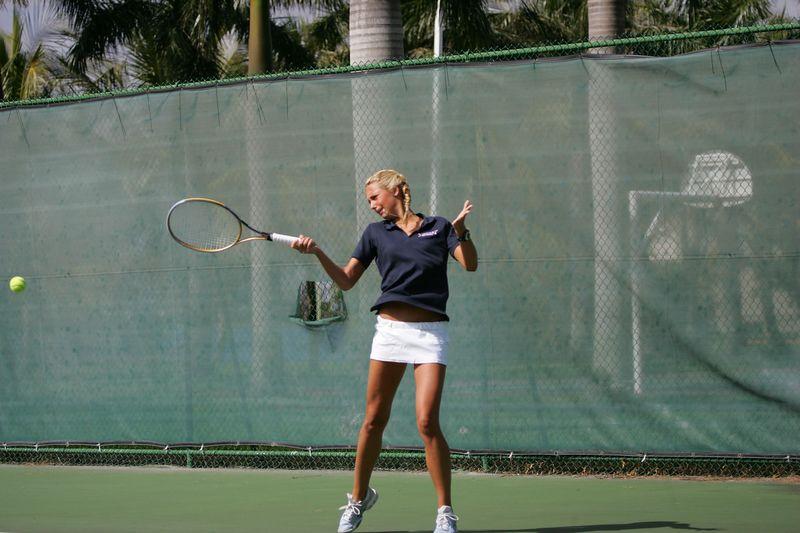 FAU Tennis - Womens Feburary 2005 -  1027