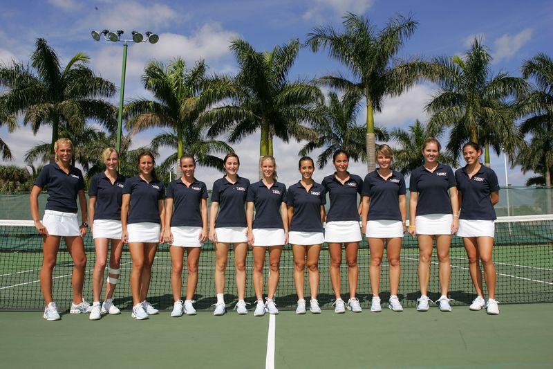 FAU Tennis - Womens Feburary 2005 -  1007