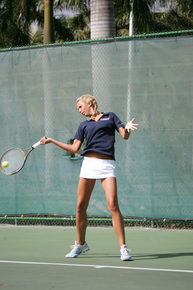 FAU Tennis - Womens Feburary 2005 -  1025