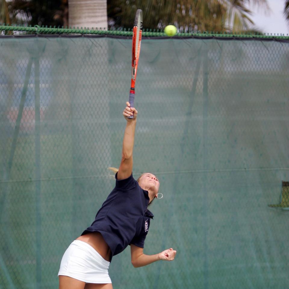 15 FAU Tennis - Womens Feburary 2005 -  1569sq