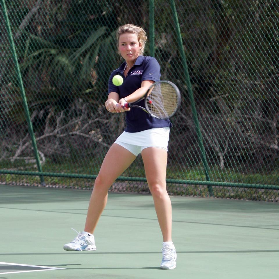 16 FAU Tennis - Womens Feburary 2005 -  1572sq