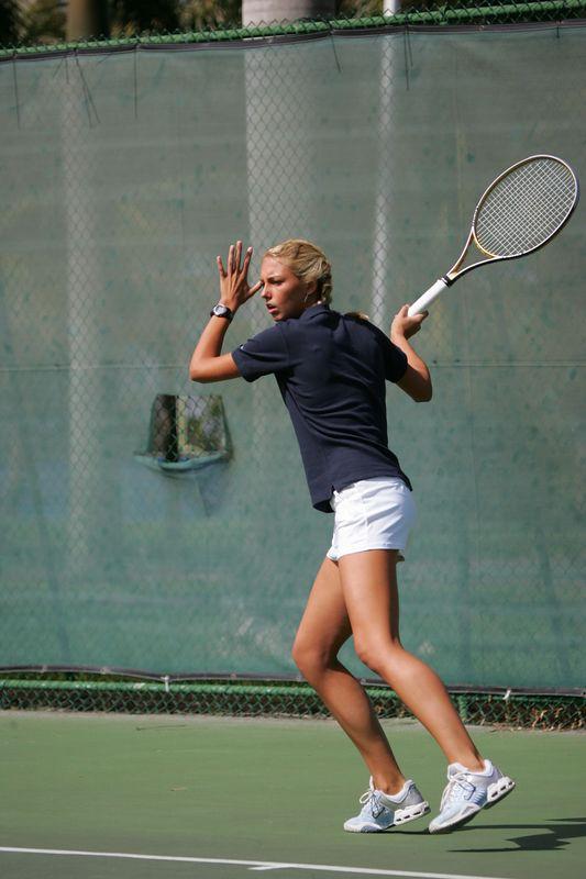 FAU Tennis - Womens Feburary 2005 -  1018