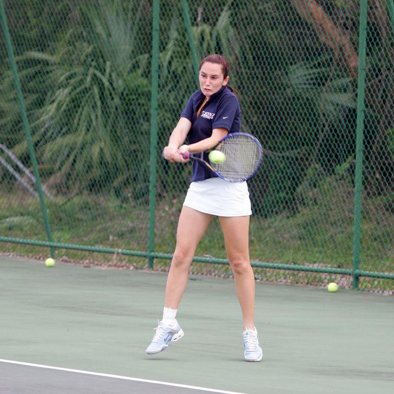 11 FAU Tennis - Womens Feburary 2005 -  1506sq
