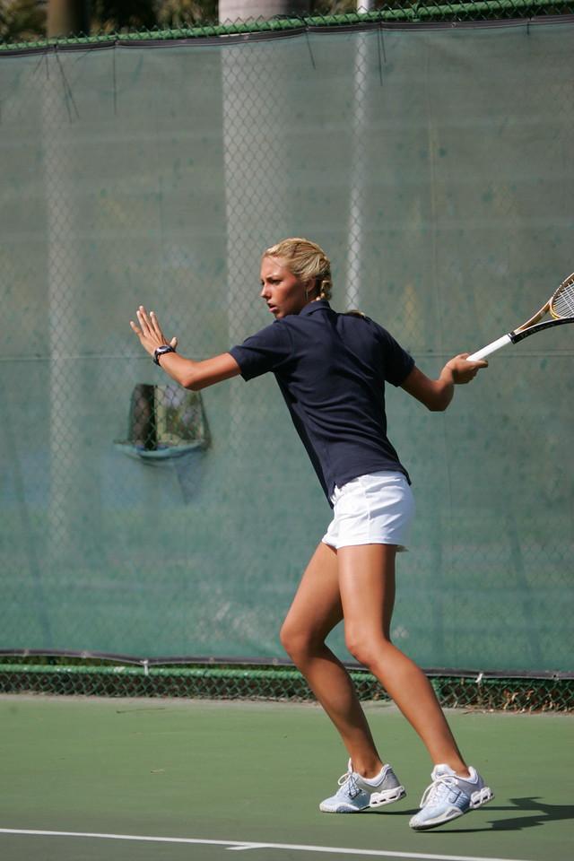 FAU Tennis - Womens Feburary 2005 -  1019
