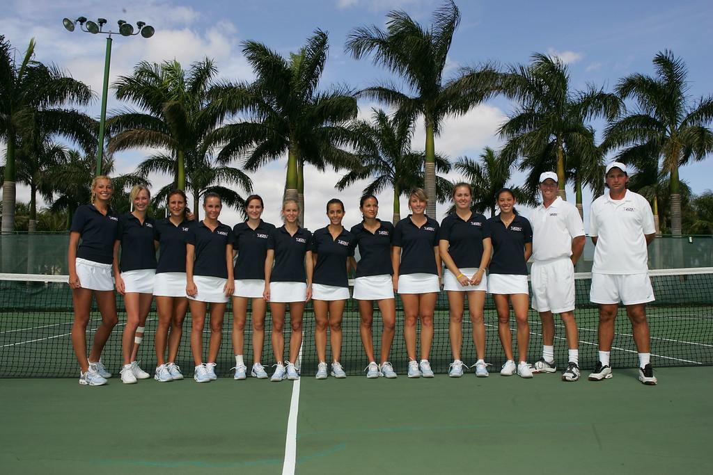 FAU Tennis - Womens Feburary 2005 -  1011