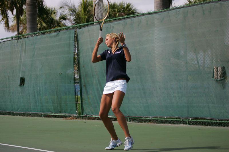 FAU Tennis - Womens Feburary 2005 -  1037