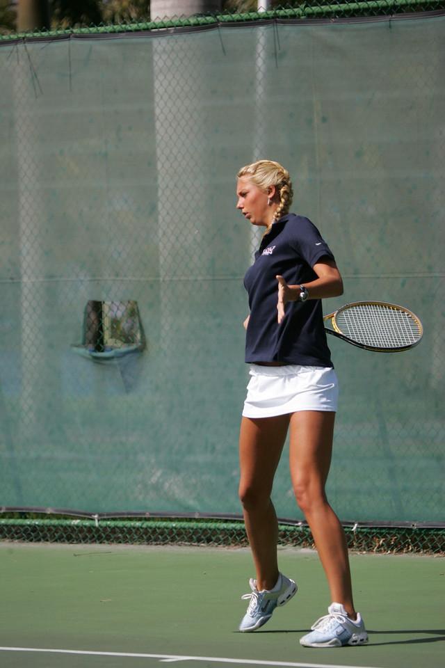 FAU Tennis - Womens Feburary 2005 -  1021