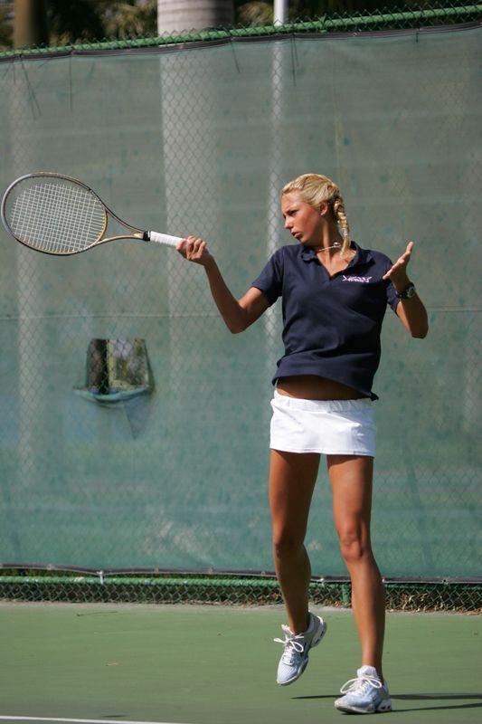 FAU Tennis - Womens Feburary 2005 -  1022