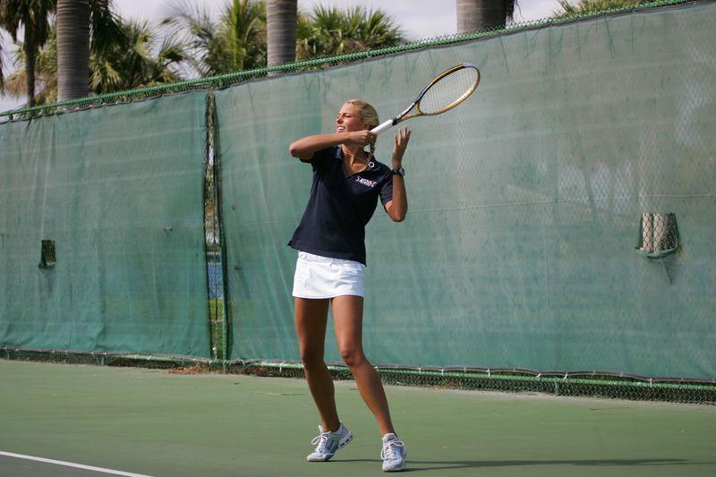 FAU Tennis - Womens Feburary 2005 -  1035