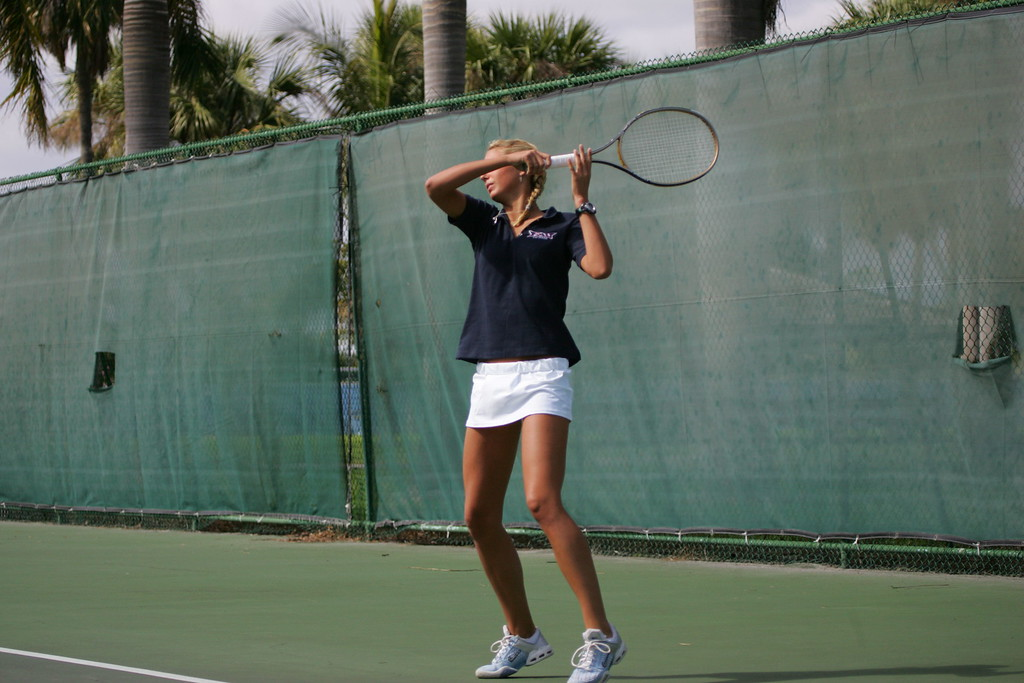 FAU Tennis - Womens Feburary 2005 -  1038