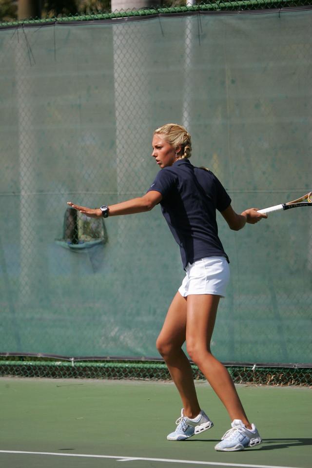 FAU Tennis - Womens Feburary 2005 -  1020