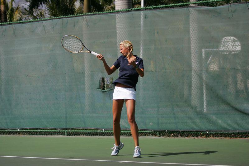 FAU Tennis - Womens Feburary 2005 -  1030