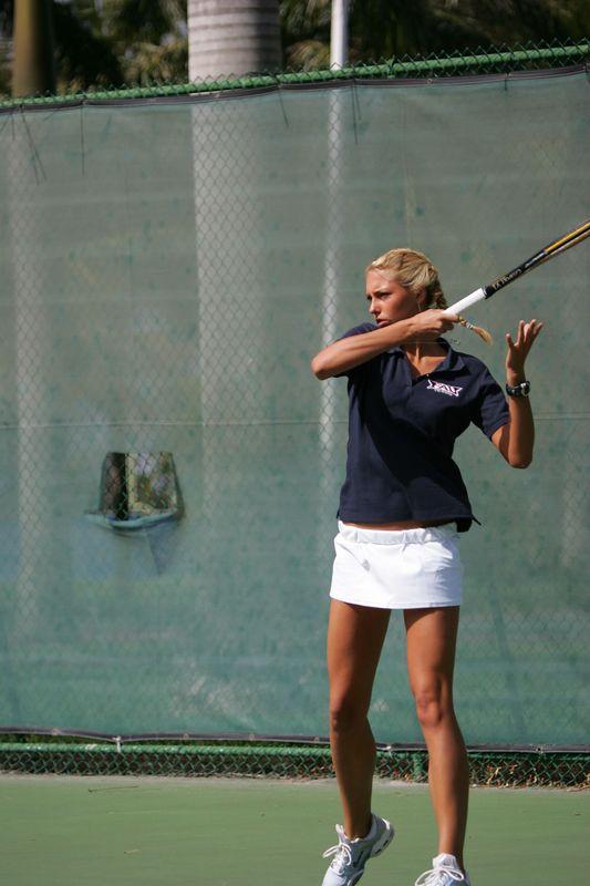 FAU Tennis - Womens Feburary 2005 -  1023