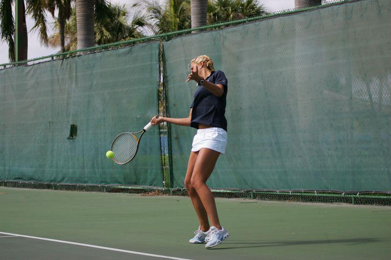 FAU Tennis - Womens Feburary 2005 -  1043