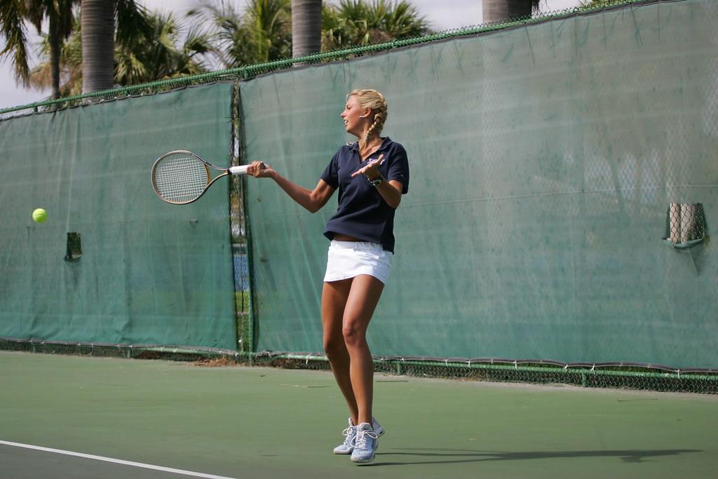 FAU Tennis - Womens Feburary 2005 -  1033