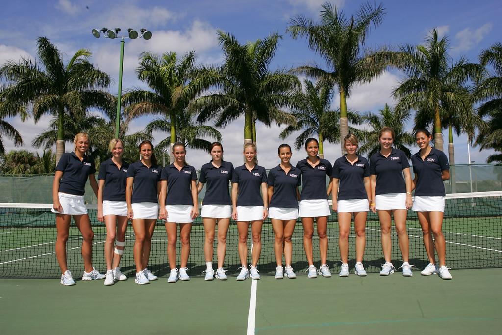 FAU Tennis - Womens Feburary 2005 -  1008
