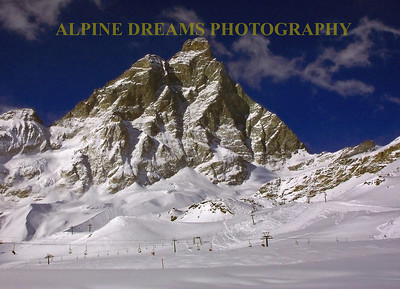 The Back of the Matterhorn        ITALY