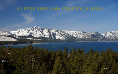 Lake Tahoe from the California Trail