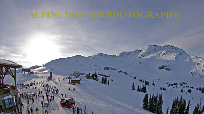 Top of WHISTLER  Early-Morn