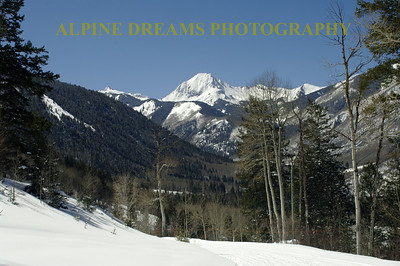 Mountain Views from SNOWMASS