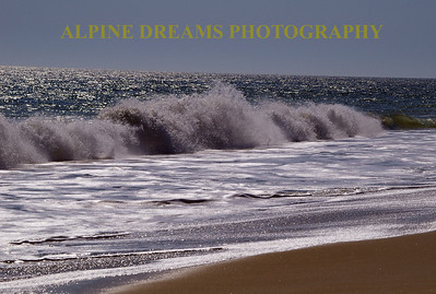 I called this   BRIGHT BEACH.  I usually don't try to shoot in mid day but on this particular day in Ocean City Md I tried to capture the brightness of the water without too much glare.