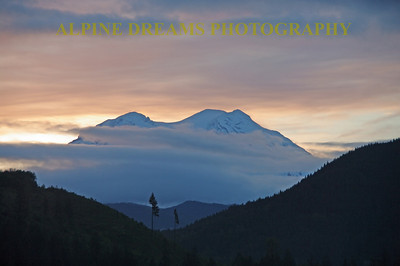 I call this Rainiers Beauty.  I can't say enough about this Mountain and this National Park. I shot this at Dawn on a tripod from Mineral Wa