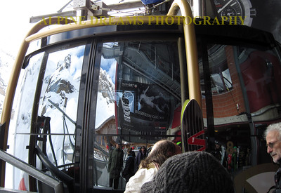 FAMOUS ROTAIR AT  MOUNT TITLIS