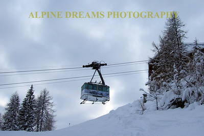 TRAM TO THE TOP AT CORTINA
