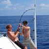 Hook up 100 miles south of Bermuda, Javelin
