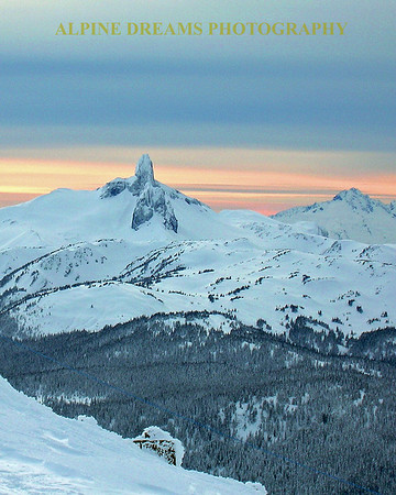 Black Tusk at Dusk      Whistler-Blackcomb.