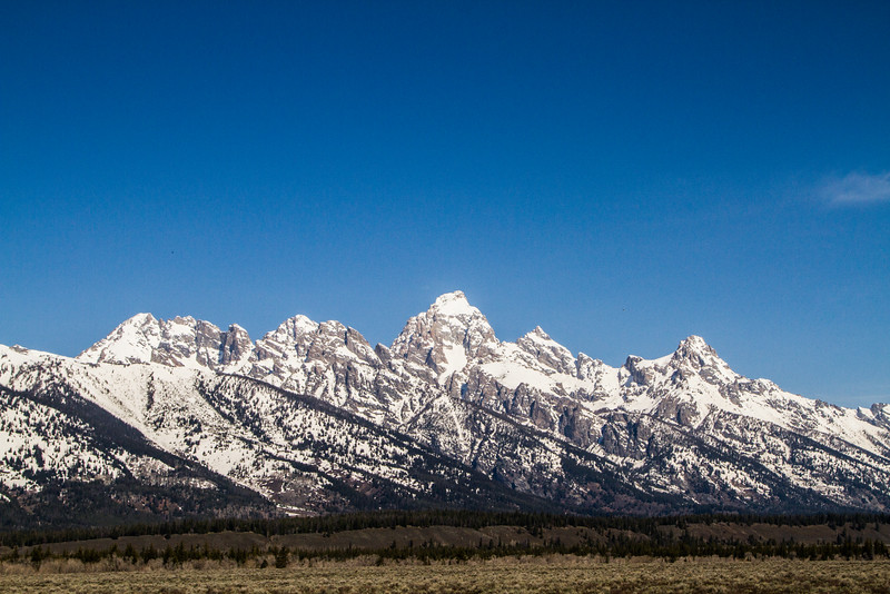 Grand Teton National Park - Teton Skyline