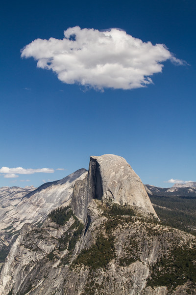 Yosemite National Park - Half Dome Thinking
