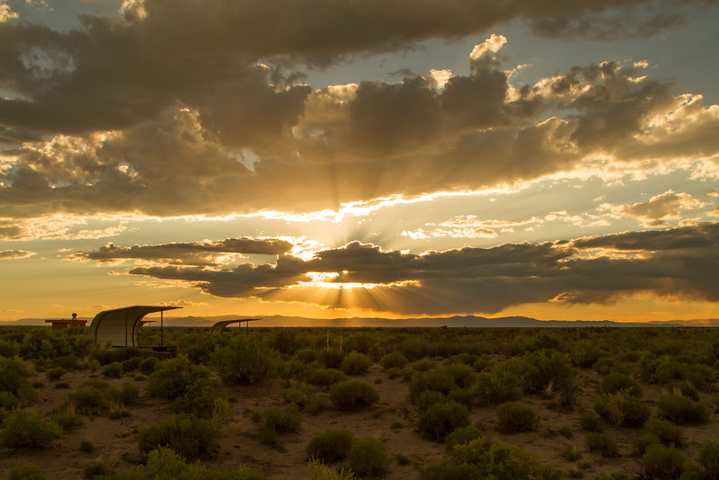 Sunset Over San Luis State Park, Colorado