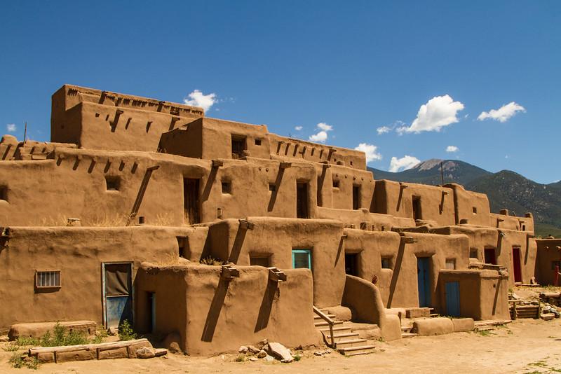 Taos Pueblo Dwelling