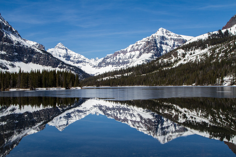 Thawing - Two Medicine Lake, Glacier National Park