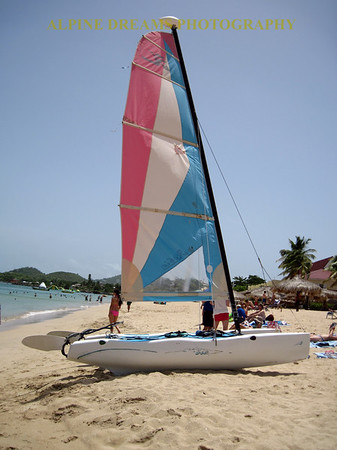 ST LUCIS HOBIE ON SHORE