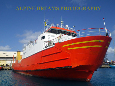 BARBADOS  WORKBOAT BEAUTY