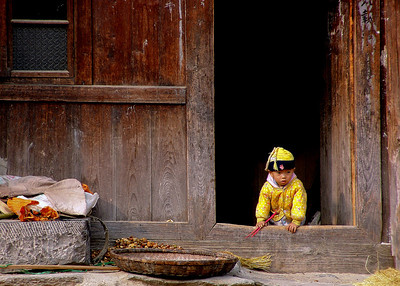 DONG BOY - GUIZHOU PROVINCE, CHINA