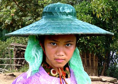 SHAN GIRL - BURMA
