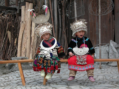 MIAO CHILDREN - GUIZHOU PROVINCE, CHINA