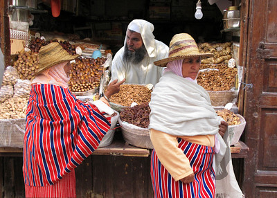 OUED LAOU MARKET - MOROCCO