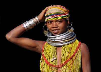BONDA GIRL - ORISSA, INDIA
